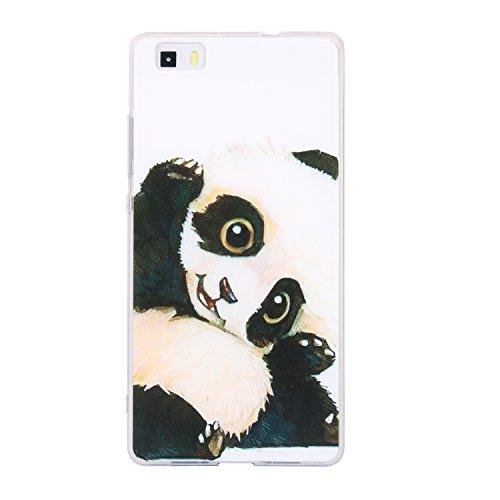 Coque Huawei P8 lite (5 Zoll), Coque de protection pour Huawei P8 lite (5 Zoll), Anlike Téléphone Coque Étui Housse Etui Case pour Huawei P8 lite (5 Zoll) - Panda