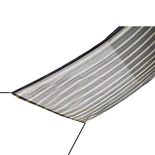 QIANCHENG-Shading net Sichtschutznetz Sonnensegel Haushalts-Schatten-Regennetz Breathable Faltbares Mehrzweckblumenschutznetz Polyäthylen, 23 Größe,Graywhite-0.5x3m