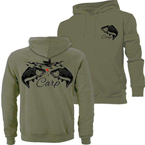 Big Carp Sweat à capuche, Hunter, pêche, pêche...