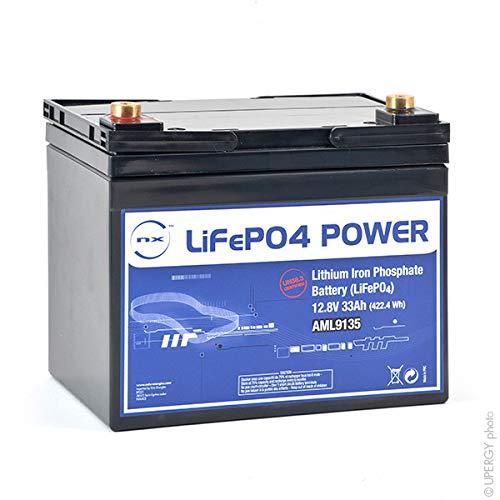 NX - Batterie lithium fer phosphate UN38.3 (409.6Wh) 12V 32Ah T6 - Unité(s)
