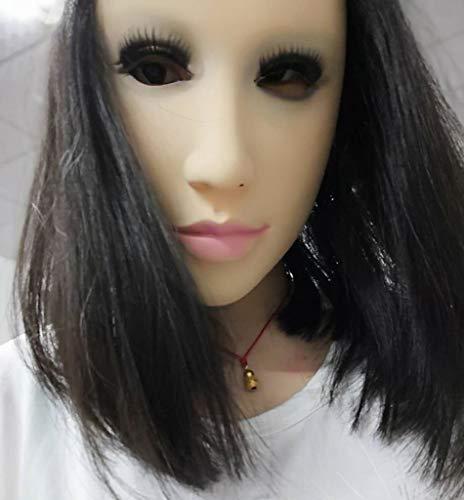 JHLD Halloween Maske, Latex Maske Halloween Kostüme Gummi-Bürste Halloween, Für Halloween Festival Party-A-1 (Fett Kostüm Für Jungs)