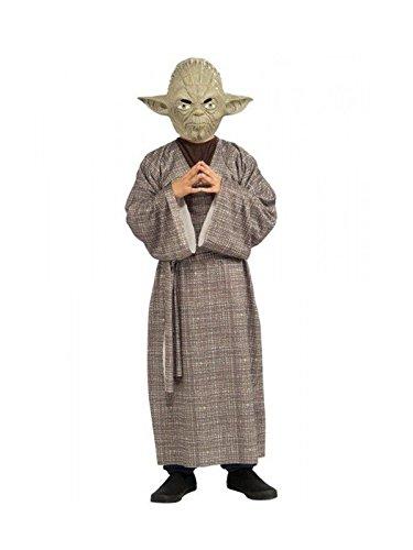 Imagen de disfraz maestro yoda deluxe niño  único, 7 a 9 años