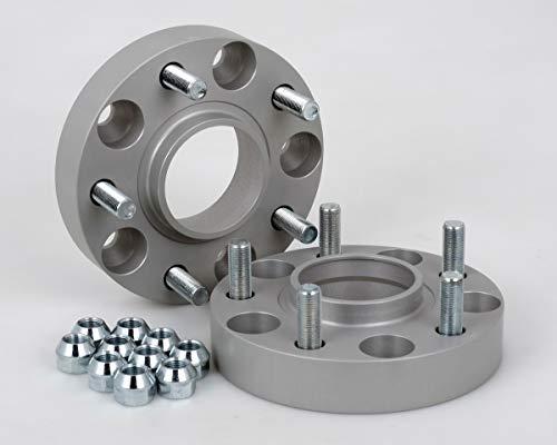 Spurverbreiterung Aluminium 2 Stück (30 mm pro Scheibe / 60 mm pro Achse) incl. TÜV-Teilegutachten
