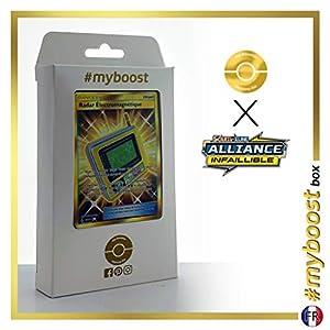 Radar Électromagnétique (Radar Electromagnético) 230/214 Entrenadore Secreta - #myboost X Soleil & Lune 10 Alliance Infaillible - Box de 10 cartas Pokémon Francés