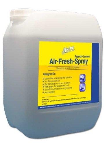 5 Liter Raumduft Air Fresh Spray French Lemon inkl. 1L Nachfüllflasche
