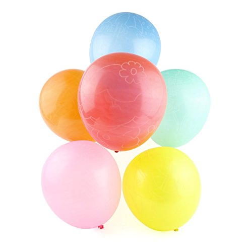 Bombas de agua Belmalia, Megapaquete de globos de agua, Globos de color rojo, amarillo, púrpura, azul, naranja, rosa, verde