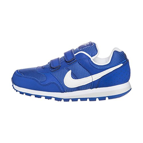 Nike Md Runner Tdv, Chaussures de Football Mixte Bébé Multicolore - Azul / Blanco (Game Royal / White-Game Royal)