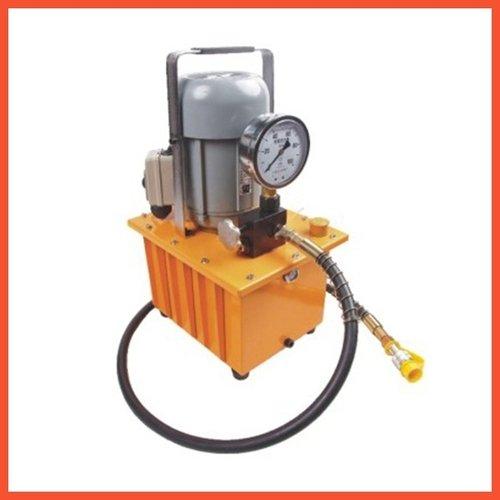 Gowe Pompe à moteur hydraulique haute pression Pompe hydraulique électrique manuel Pompe hydraulique électrique Pompe à huile pression nominale : 63 MPa, capacité : 0,6 L/min