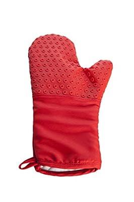 ALLGRILL BBQ-Handschuh aus Silicon und Baumwolle