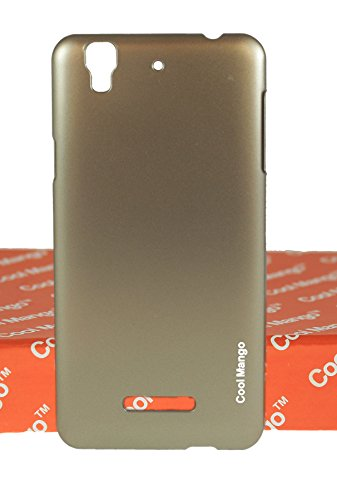 Yu Yureka Plus Back Cover / Case - Cool Mango Back Cover Case for Micromax Yu Yureka Plus - Sparkling Champagne Gold  available at amazon for Rs.149