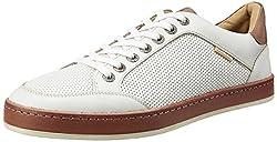 U.S. Polo Assn. Mens White Leather Clogs and Mules - 8 UK/India (42 EU)