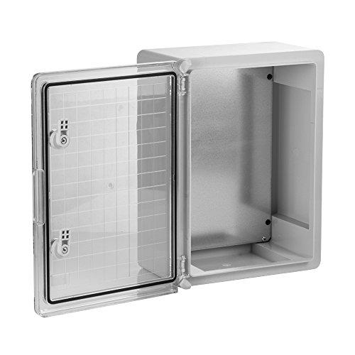 Schaltschrank 40 x 60 x 20 cm SICHTTÜR verzinkt Montageplatte ABS Kunststoff IP65 400 x 600 x 200 mm – 1134 - 5