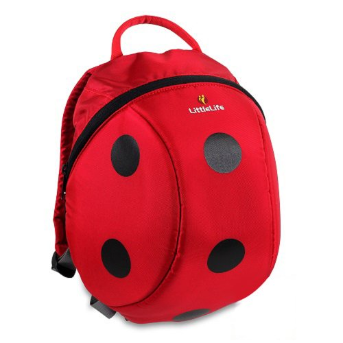 LittleLife Animal Kids Daysack and Lunch Pack Ladybird
