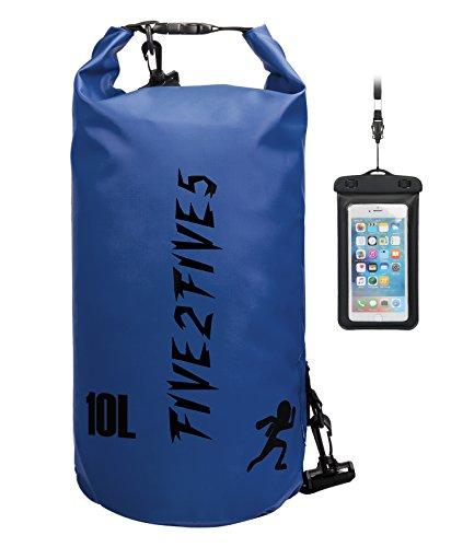 Wasserdichte Tasche Sack/5L/10L/15L/20L/30LDry Bag Wasserfester Packsack für Camping Boote/ Schwimmen Baden Kajak, Kanu, Segeln,Rafting, Schwimmen, Strand, Snowboarden, Skifahren Schnorcheln