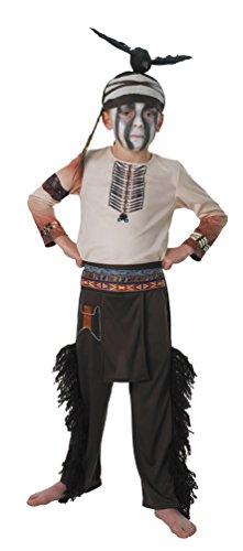 Karneval-Klamotten Indianer Kostüm Kinder Junge Kostüm Jungen-kostüm Indianer Tonto Karneval Kinderkostüm Größe 104/116
