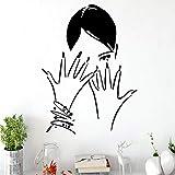 BFMBCH Modern Nail Salon Adesivi murali in vinile Decorativi Decorazioni per...