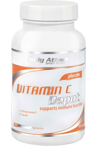 #Body Attack Vitamin C Depot – 90 Caps#