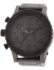 Nixon Herren-Armbanduhr XL The 51-30 Chrono Chronograph Quarz Edelstahl beschichtet A0831062-00