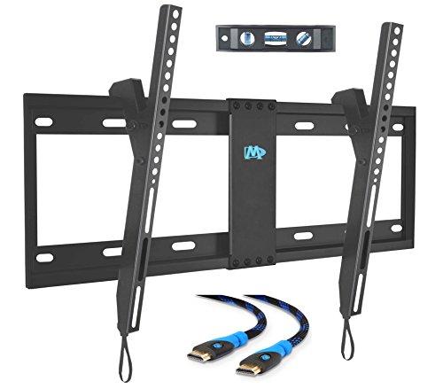 Mounting Dream MD2268-LK-02 support mural pour TV Support inclinable pour la plupart des 42–70 pouces LED, LCD et plasma jusqu'à VESA 600 x 400 mm et 60 kg Capacité de charge, 6 ft câble HDMI