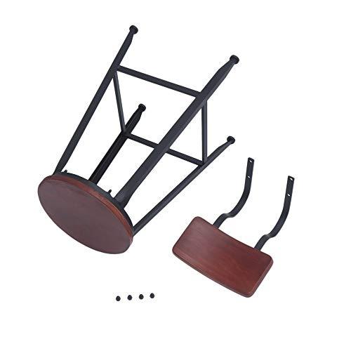 Hohe Dining Chair (mimagogy Küche Dining Chair Sturdy Pub Hohe Barhocker Industrie Stil Wohnmöbel)
