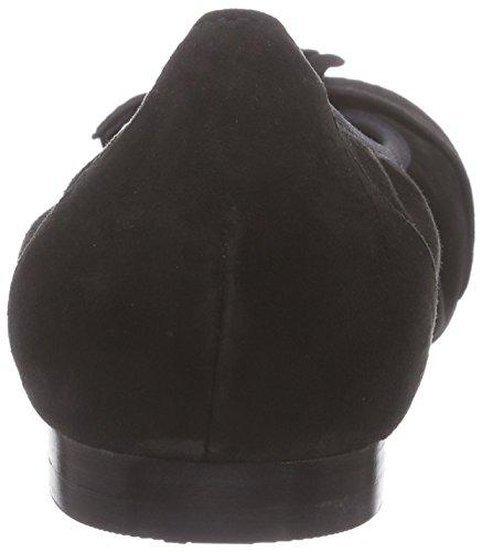 Caprice - 22101, Ballerine Donna Nero (Schwarz (Black Suede 4))