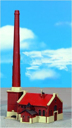 Preisvergleich Produktbild KIBRI 6605 Z-Bausatz Kesselhaus mit Kamin
