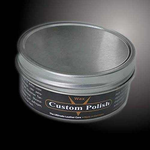 Custom Polish Wax 150 Ml Natural Innovative And Professional Leather Care For Vehicle