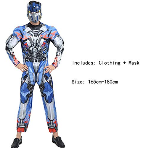 Cartoon Anime Dress Up Charakter Erwachsene Kostüm Printed Hero Cosplay Kostüm (Transformers) ()