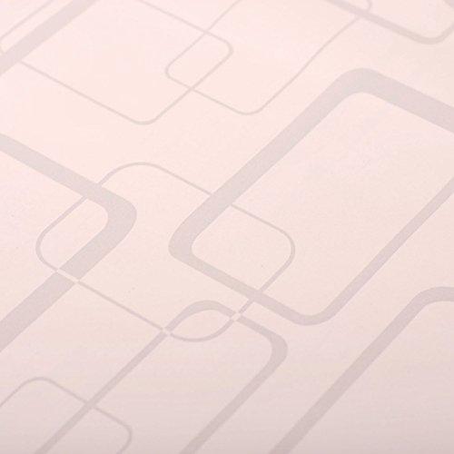Zhzhco 4.5 Square Ästhetische Plastische Pvc Selbstklebend Wallpaper Wallpaper
