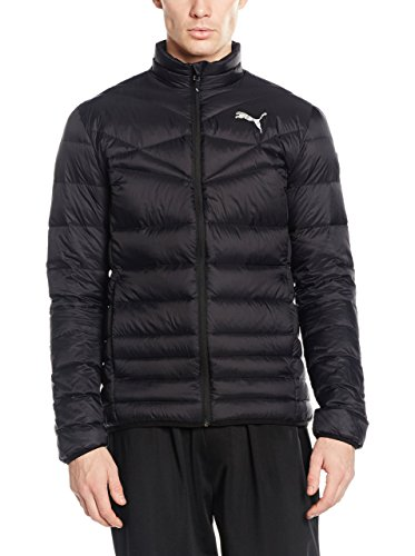 PUMA Herren Jacke ACTIVE 600 PackLITE Down Jacket, Black, XXL, 838646 01