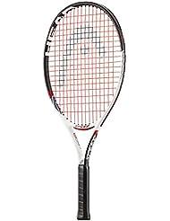 Head Speed 23Racchette da tennis, Unisex bambini, Speed 23, bianco / rosso