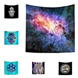 Alcoa Prime Tapestry Table Cloth Picnic Mat Beach Pool Shower Towel Blanket Starry Sky