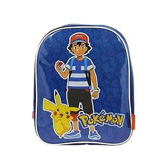 Pokemon – Mochila infantil  niños azul azul