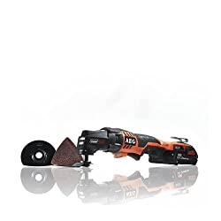 AEG 4935446705 Akku-Multitool OMNI 18 C/2.0 Ah, 18 V, Schwarz, Orange