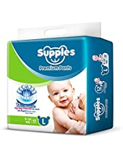 Supples Premium Pants Large Size Diapers (62 Count)