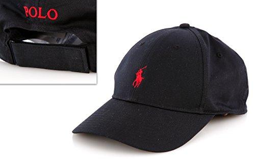 size 40 1a122 103d0 Ralph Lauren - Cappellino da baseball - Uomo Nero Polo Black ...