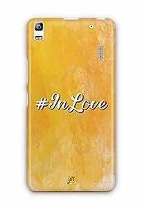 YuBingo In Love Designer Mobile Case Back Cover for Lenovo A7000