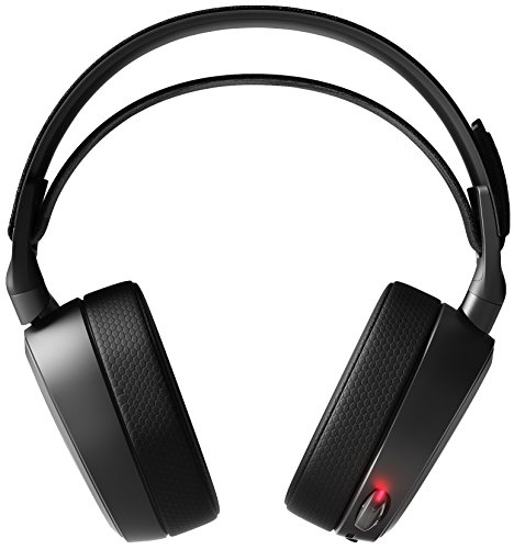 SteelSeries Arctis Pro Wireless – Gaming Headset – Hi-Res Speaker Drivers – Dual Wireless (2.4G & Bluetooth) – Dual Battery System