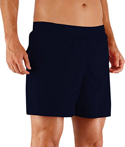 Speedo Solid New Watershorts da piscina in tessuto Quick Dry, Pantaloncini da uomo blu navy