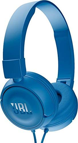 JBL T450 Extra Bass On Ear Headphones with Mic  Blue