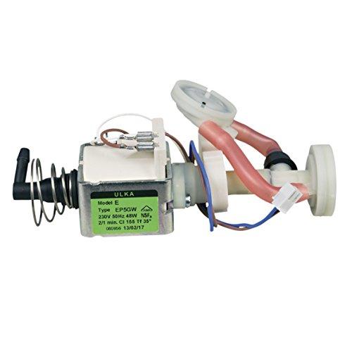 Bosch Siemens 12008608 ORIGINAL Wasserpumpe Elektropumpe Pumpe ULKA 48W 230V mit Pulsationsdämpfer...