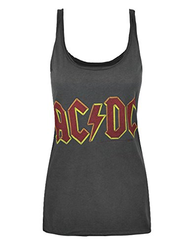 Damen - Amplified Clothing - AC/DC - Tank Top (M) - Top Dc Tank Ac
