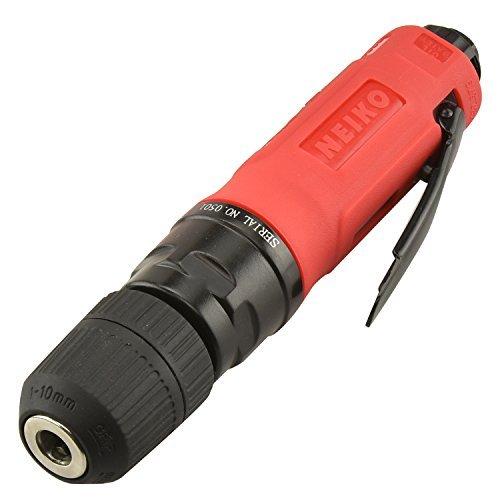 Neiko 30106B Straight Type Air Drill with Keyless Chuck, 3/8 by Neiko -