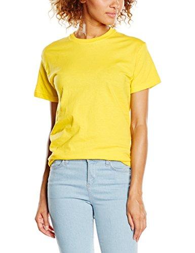 fruit-of-the-loom-ss022m-t-shirt-homme-jaune-sherbet-yellow-moyen