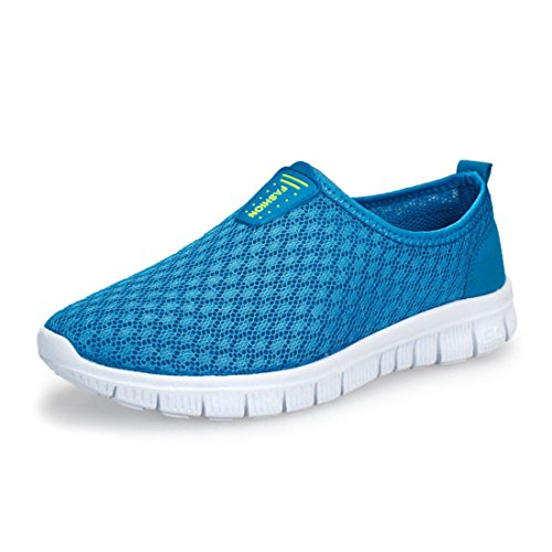Men's Air Mesh Breathable Ultra Light Running Shoes blue