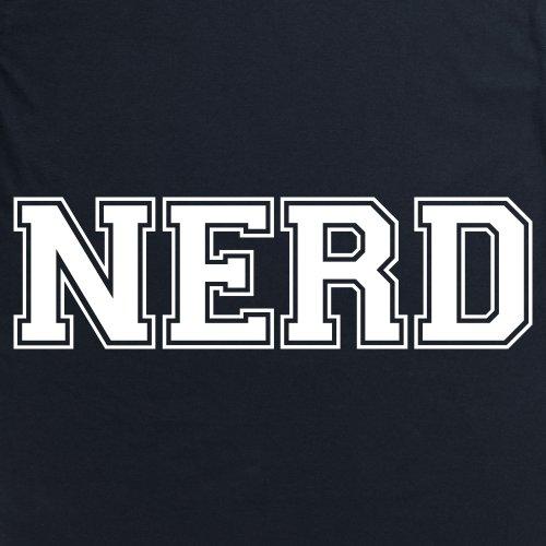 Nerd Slogan T-Shirt, Herren Schwarz