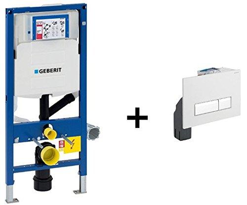 Geberit Duofix Unterputz-320 Duofresh Vorwandelement Spülkasten mit Drückerplatte