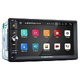 eonon Android 8.0 Oreo 2-DIN memoria da 4GB Octa-Core headunit supporto Bluetooth 1024 x 600 schermo HD navigazione GPS touchscreen pannello LCD 17,8 cm autoradio stereo auto GA2170 (no DVD)