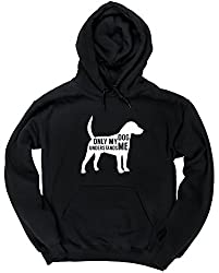 HippoWarehouse Only my dog understands me unisex Hoodie hooded top