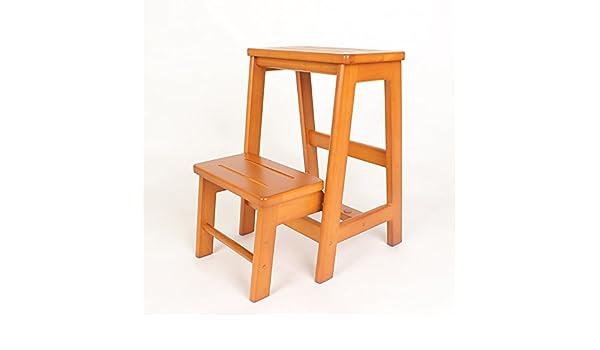 Wssf sgabelli da passeggio in legno massello sgabelli pieghevoli a